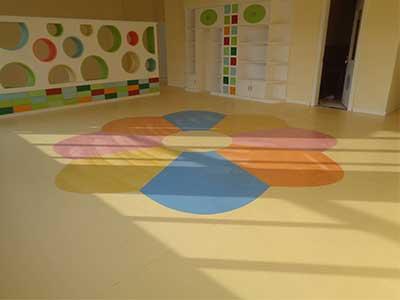 石家庄塑胶地板安装