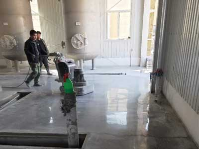 水泥地坪施工