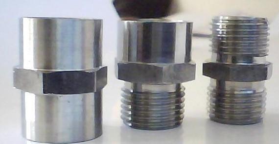 高压油管总成不锈钢四通接头介绍 插入焊接式管接头说明