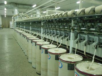 【知识】气流纺棉纱机构简 气流纺纱的原理
