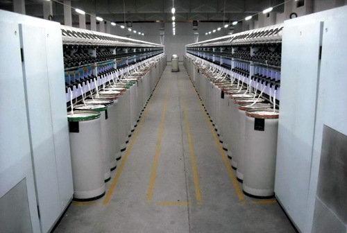纯棉气流纺纱