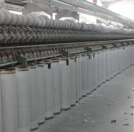 棉色纺气流纺纱