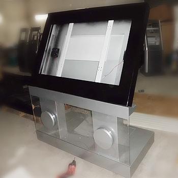 福田区广告机柜型号图片有哪些|铼祥五金|机柜规格
