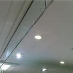 固定玻璃式挡烟垂壁