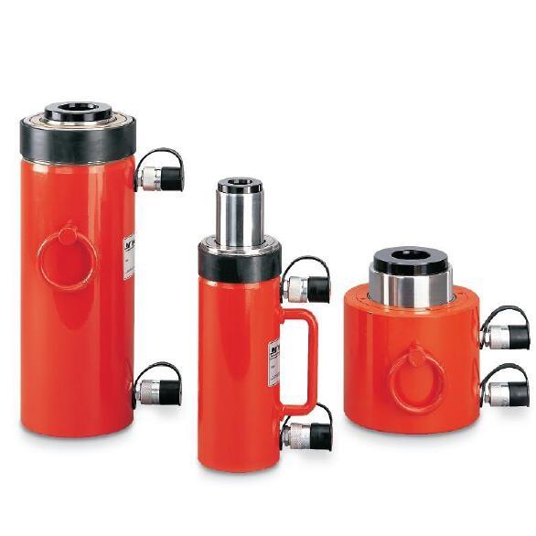 双作用中空型液压缸
