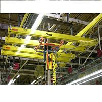耶鲁铝合金轨道 邻跨过轨 整体旋转 图像识别 同步抬吊