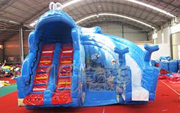 鲸鱼水滑梯设备