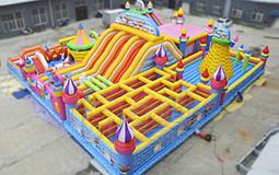 梦幻城堡充气游乐设备
