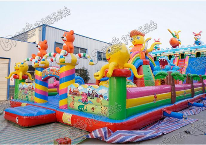 儿童充气城堡蹦床