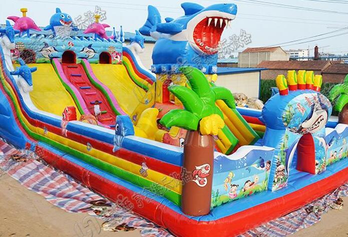 郑州儿童充气水滑梯