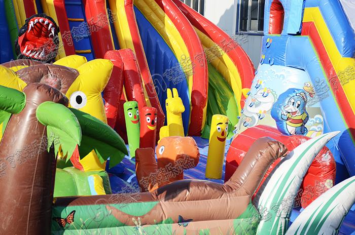 儿童充气城堡乐园