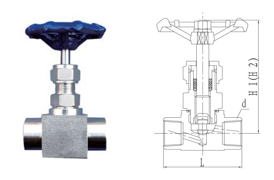 CZY12-1-J11WH系列内螺纹式截止阀