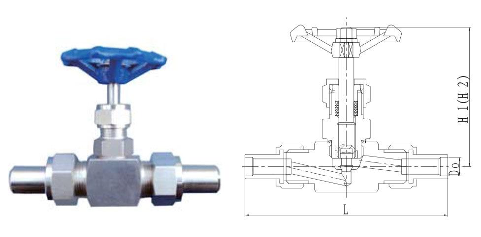 CZY12-4-J21WH外螺纹截止阀