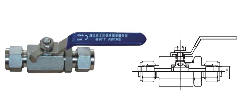 CZY15-1-QG.Y1卡套式球阀