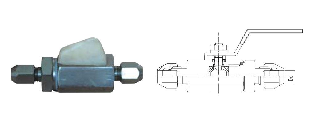 CZY15-5-QY-1气动管路球阀