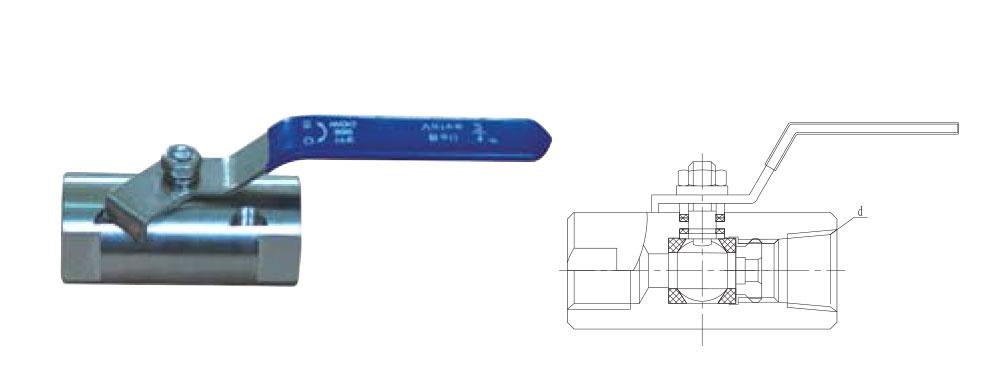 CZY15-7-QIIF内螺纹球阀