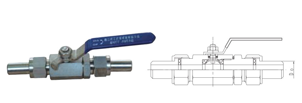 CZY15-10-Q21F外螺纹球阀