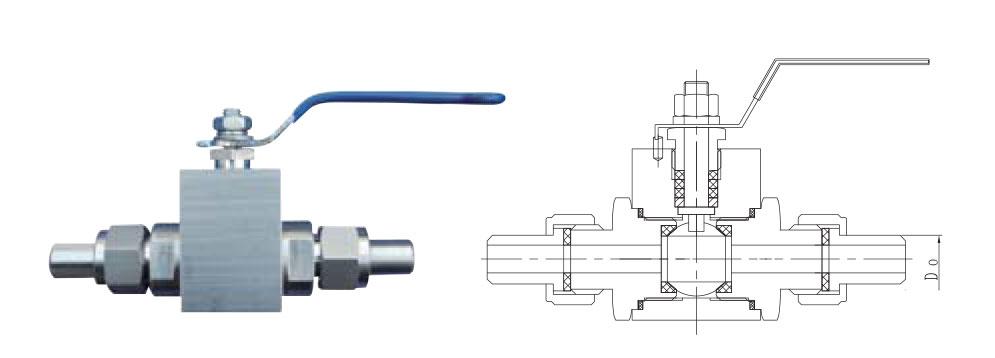 CZY15-14-Q21G高温高压外螺纹球阀