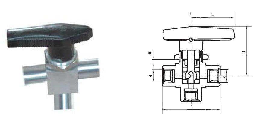 CZY15-18-FP-1两位一通双卡套球阀