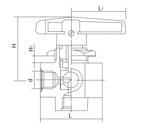 CZY15-19-FP-2四位一通切换球阀