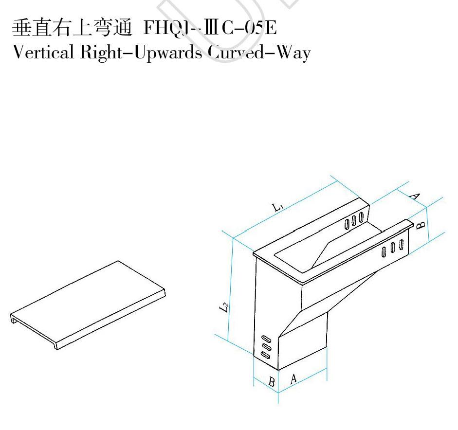 垂直右上弯通 FHQJ-ⅢC-05E