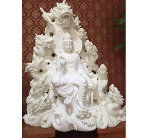 观音菩萨石雕
