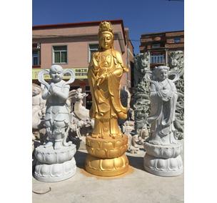 金身观音雕塑