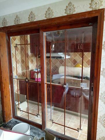 重庆玻璃门安装实例