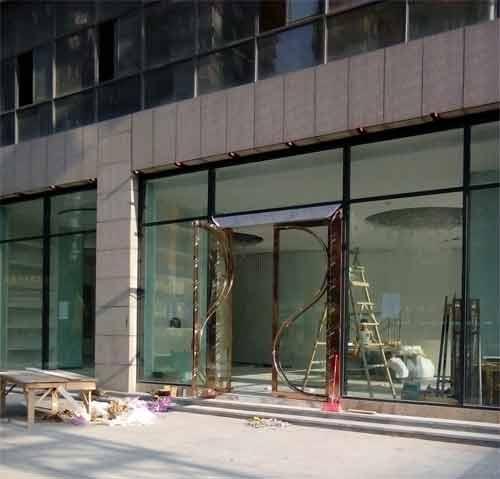 貴州玻璃門