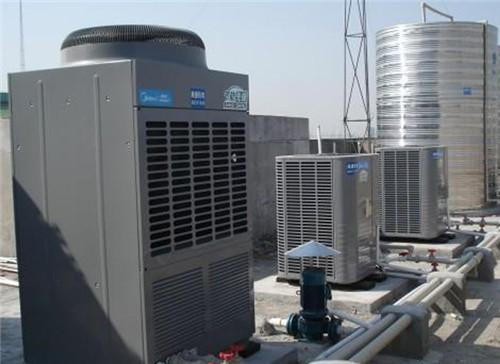 美的空气能宾馆热水工程