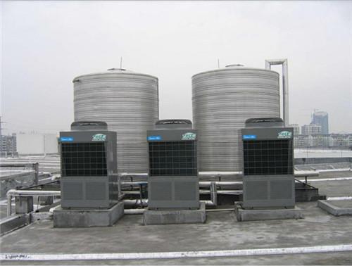美的空气能服饰公司热水工程