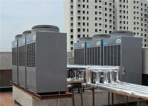 美的空气能小区集中热水工程