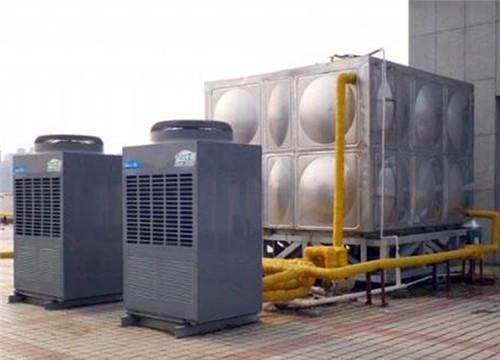 美的空气能学校热水工程