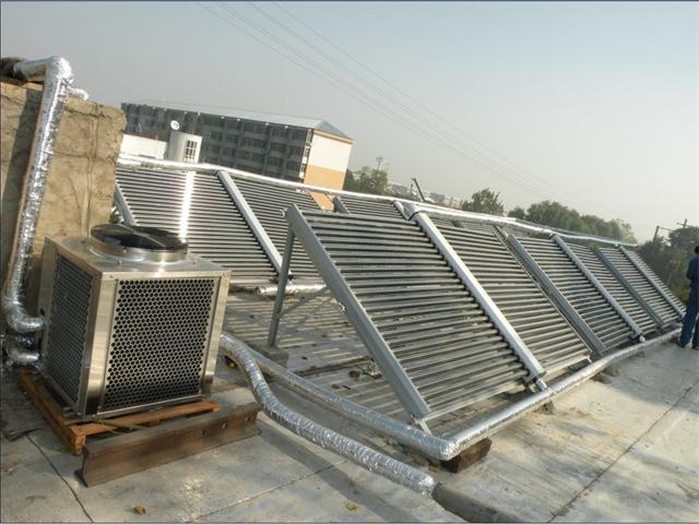 足疗店太阳能空气能热水工程