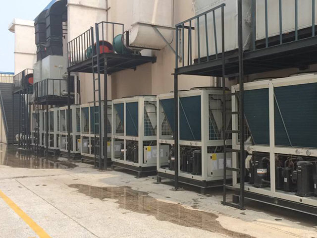 酒店空气能采暖工程