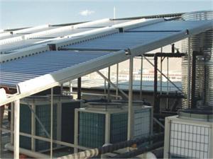 昆山电业太阳能空气能热水工程