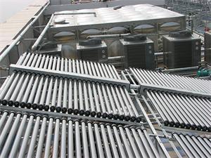 酒店太阳能空气能热水工程