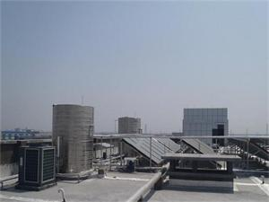 健身房太阳能空气能工程
