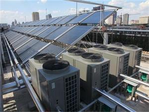 宾馆太阳能空气能热水工程