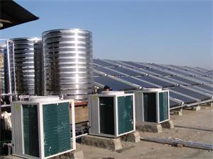 养殖场太阳能空气能热水工程