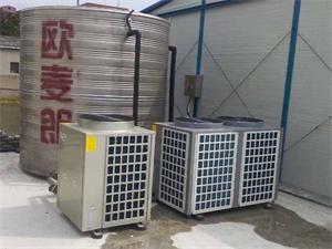 盐城建筑工地热泵热水工程