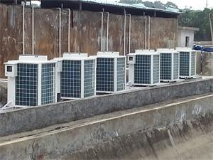 南京鱼池加温热泵工程