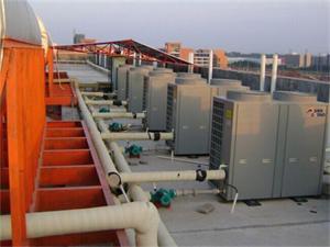 武进工业园热泵热水器工程