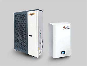 空气源地暖空调分体机