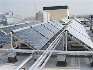 镇江铝业太阳能热水工程