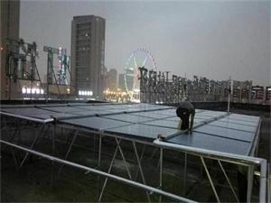 南通连锁宾馆太阳能热水工程