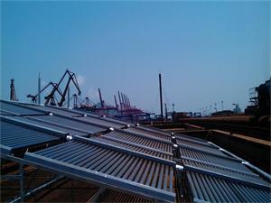 连云港码头太阳能热水工程