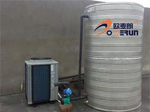 常州养生会所热泵热水工程