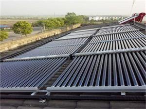 江苏长江都市建筑太阳能空气热水工程