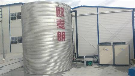 上海帆景建设空气能热水工程